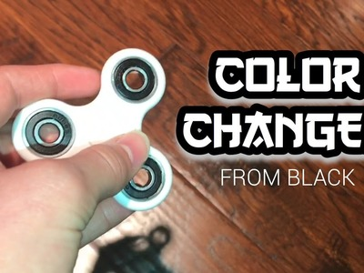 FIDGET SPINNER MAGIC TRICK (How to Change the Color of Your Fidget Spinner Using Only Your Hands!)