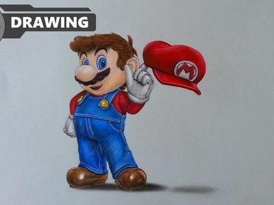 How I draw Mario (Nintendo) - speed drawing