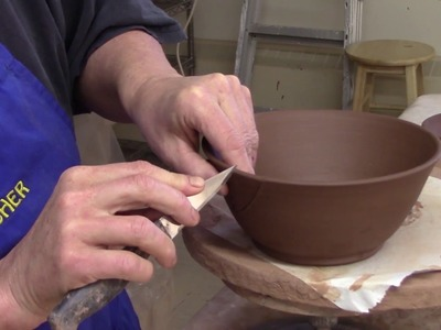 How I Turn a Bowl to a Yarn Bowl