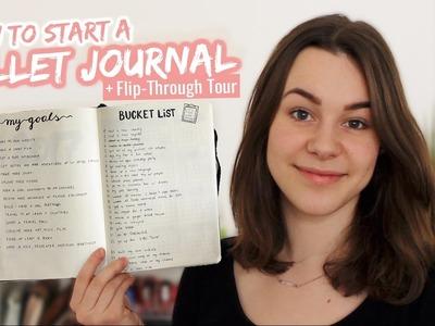 How to Bullet Journal + Flip-Through Tour | HannaCreative