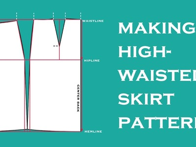 How to DIY a Tailored Skirt Pattern