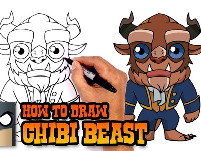 How to Draw Beast | Beauty and the Beast