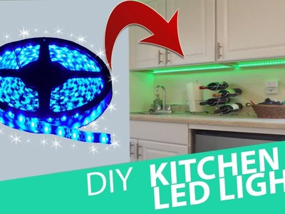 How To Install Kitchen LED Lights. HomeCraft