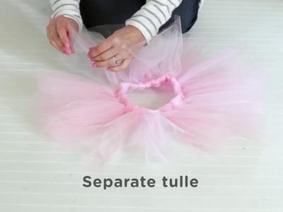 How to Make a Ballet Tutu