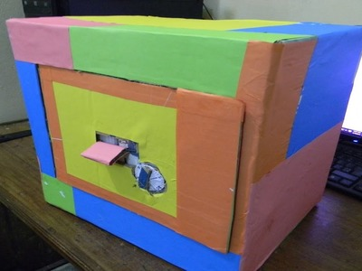 How To Make A Combination Lock From Cardboard
