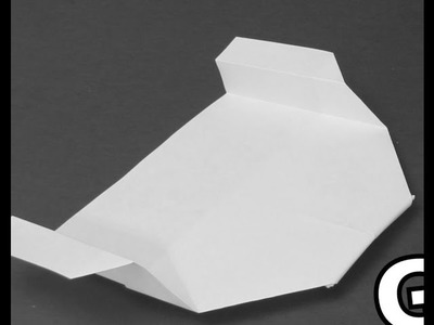 How to make a Cool Glider from Paper - Origami