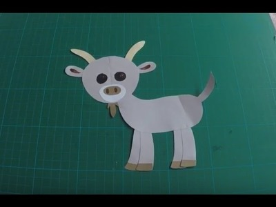 How to make a goat (Diy - Handmade)