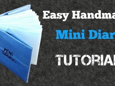 How to make a Handmade Diary | For Beginners | Aditi Card Zone
