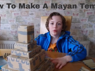 How To Make a Mayan Temple - Homework Help from Family Makes!