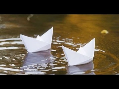 How to make a paper boat | sailing paper boat