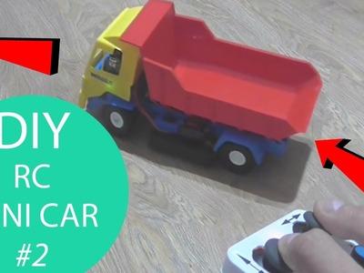 HOW TO MAKE A REMOTE CONTROL MINI CAR #2. HomeCraft