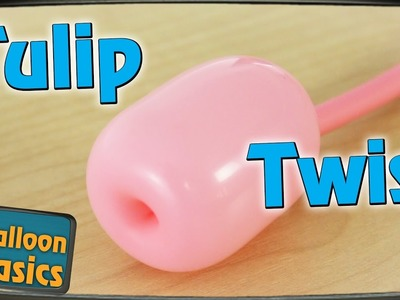 How to make a Tulip Twist in a balloon - Balloon Basics 17