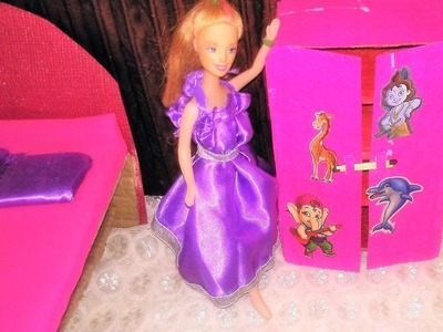 How to make Barbie Doll Cloth Covered