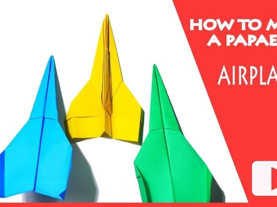How to make cool paper airplanes that fly far | very easy and simple ways to make
