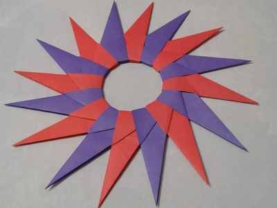 How to Make Corona NINJA STAR with paper at home
