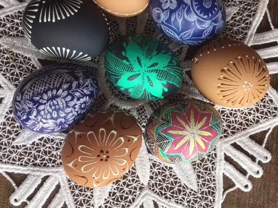 HOW TO MAKE Easter Eggs - Pisanki (With Colored Wax)