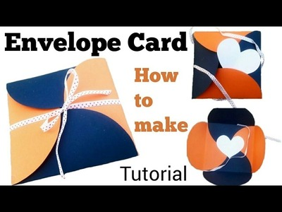 How to make Envelope Card | Aditi Card Zone | Tutorial |