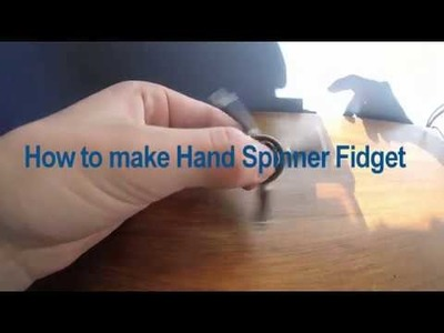 HOW TO MAKE HAND SPINNER !!!