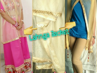 How To Make Lehnga Jacket From Duptta.Viewer's Choice