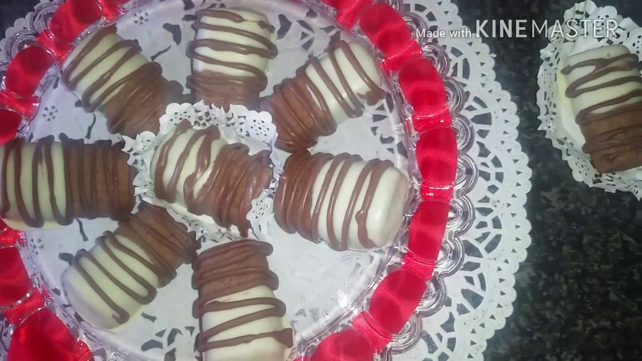 How to make mini chocolate shortbread biscuits cookies