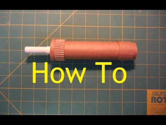 How to make my Cardboard 1911 Supressor