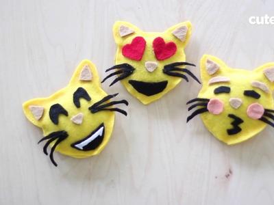 How To Make No-Sew Emoji Catnip Toys
