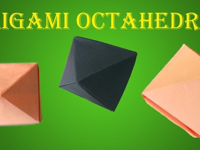 How To Make Origami Seamless Octahedron