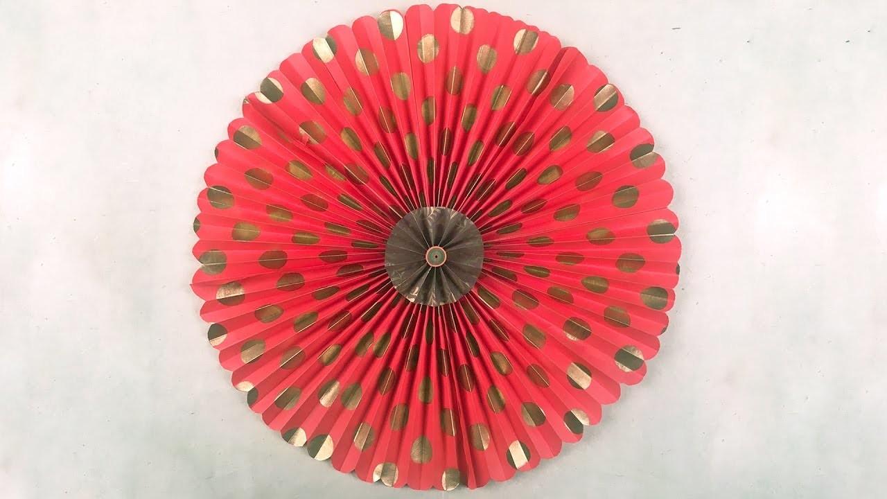 How to make paper rosette flower paper pinwheels backdrop for how to make paper rosette flower paper pinwheels backdrop for decoration mightylinksfo