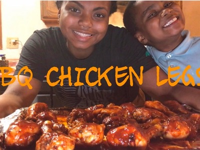 HOW TO MAKE THE BEST BBQ CHICKEN LEGS EVER