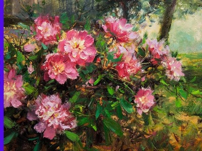 How to Paint Peonies Preview