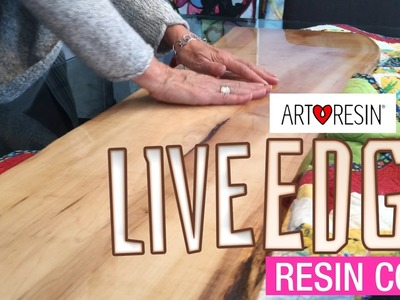 How to Resin Live Edge Wood