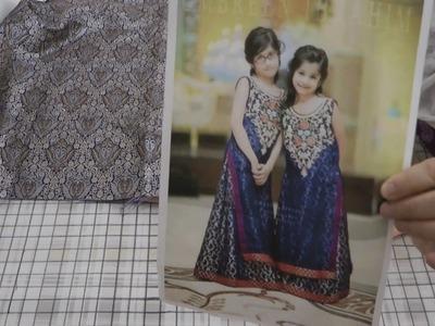 How to sew gharara