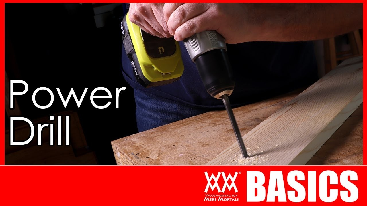 How to Use a Power Drill and Impact Driver | WOODWORKING BASICS