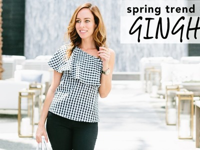 How to Wear GINGHAM I Spring Trend Guide