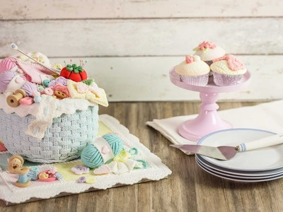 Karen Davies Sugarcraft Cake Decorating Moulds - Rustic Basket Weave - How To - Tutorial