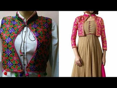 Kurti jacket making| how to make jacket for kurti