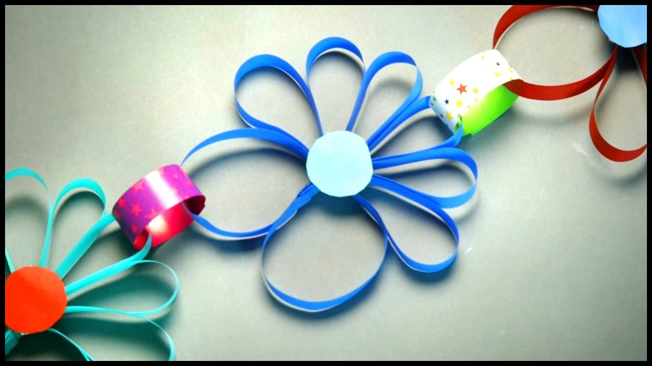 Paper Flowers | Craft Works | DIY Crafts | Art and Craft for Kids