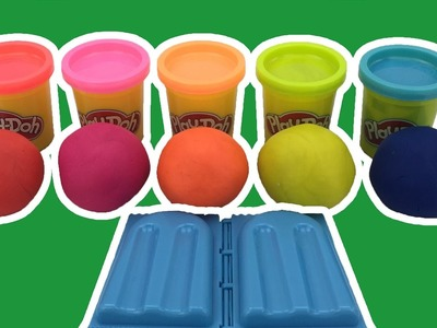 Play Dough How to Make Ice Cream with Molds Fun Learn Colors and Creative for Kids