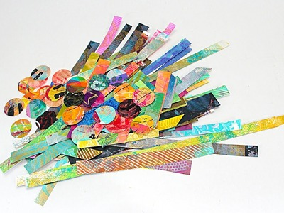 PREVIEW: How to Create an Art Journal Page From Scraps - with Barb Owen - HTGC Member Class s03e11
