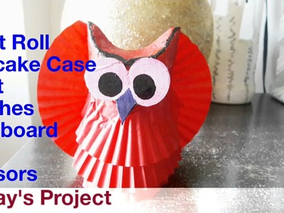 Quick Craft:How to Make an OWL from Toilet Roll| Mommy&Baby's Art Class| Cute Kids DIY| Summer DIY