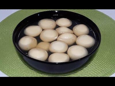 Rosogolla Homemade Easy Bangle Recipe   How to Make Perfect Rasagulla in Bengali