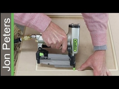 Woodworking Basics, How to Trim Panels with Quarter Round