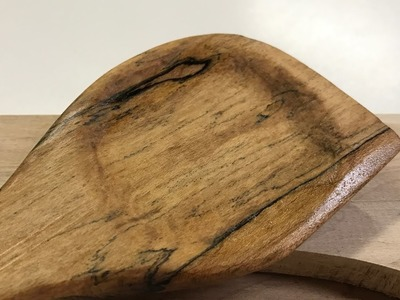 Woodworking: How to make a spalted maple wooden spoon