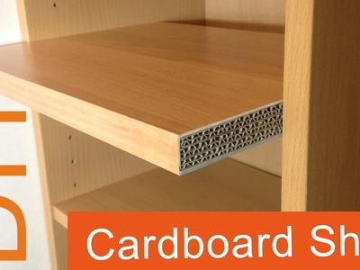 2. DIY How to make a Cardboard Shelf (2nd way)