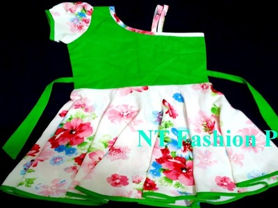 6 MONTHS OLD GIRLS BABY DRESS CUTTING & STITCHING EASY METHOD (DIY)