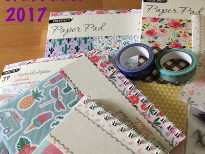 Aldi Craft Haul 2017