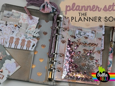 April Planner Set-Up - Planner Society March Kit - Shaker Dashboard