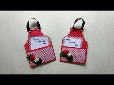 Apron Card   Tutorial   Mother's Day Card  DIY   Handmade