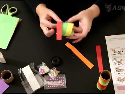 ASMR Craft | DIY Kaleidoscope (silent, no talking) - bit of a fail