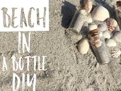 Beach in a Bottle DIY | Beach Souvenir | Beach Wedding Favor DIY | Beach Theme Decor